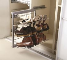 3-TIER PULL-OUT SOFT CLOSE SHOE RACK - Left or Right Hand options (ECF WWPSR3)